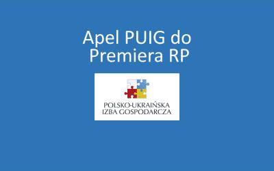 Apel PUIG do Premiera RP