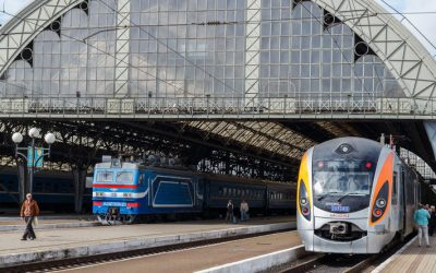 Bezpłatny przewóz pracowników służby zdrowia pociągami Ukrzaliznytsi