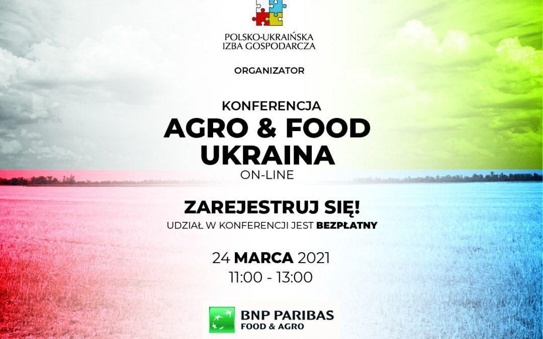 """Konferencja """"Agro & food Ukraina on-line"""""""