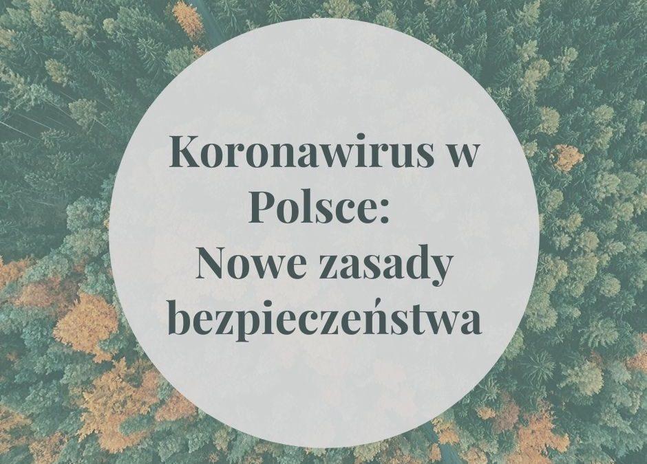 Koronawirus w Polsce: Nowe zasady bezpieczeństwa