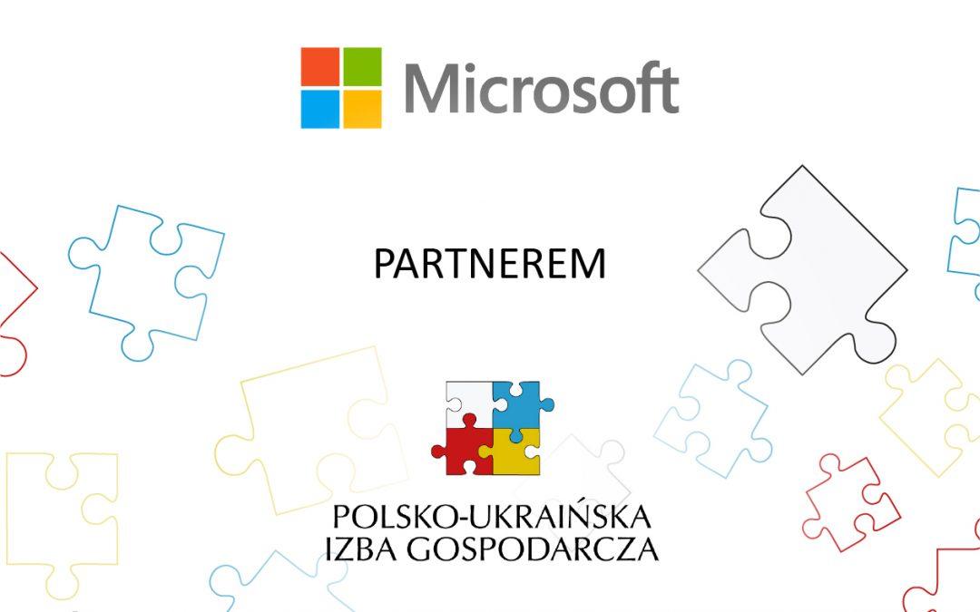 Microsoft Partnerem Polsko – Ukraińskiej Izby Gospodarczej