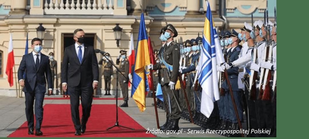 Wizyta Prezydenta Andrzeja Dudy w Ukrainie