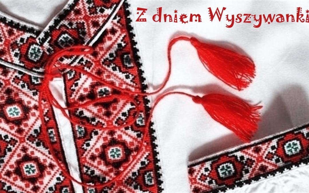 Найщиріші вітання від колективу Польсько-української господарчої палати з нагоди Всесвітнього дня Вишиванки!