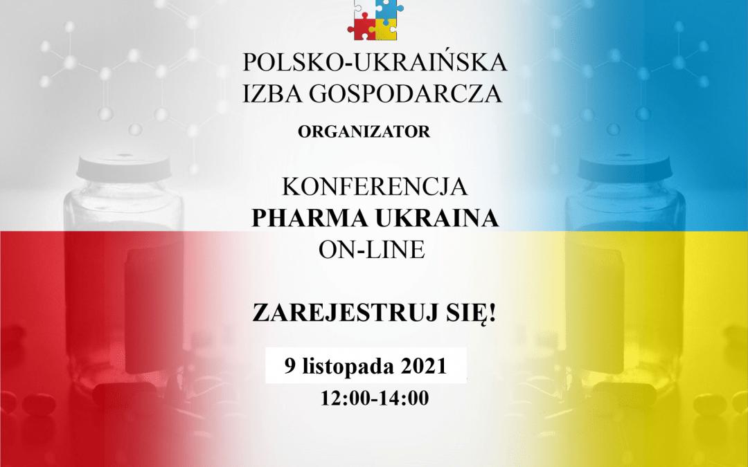 """Konferencja """"Pharma Ukraina on-line"""""""