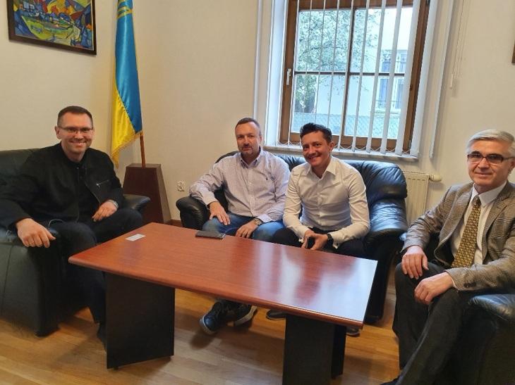 Представництво ПУГП в Кракові провело зустріч з Генеральним Консулом України Вячеславом Войнаровським